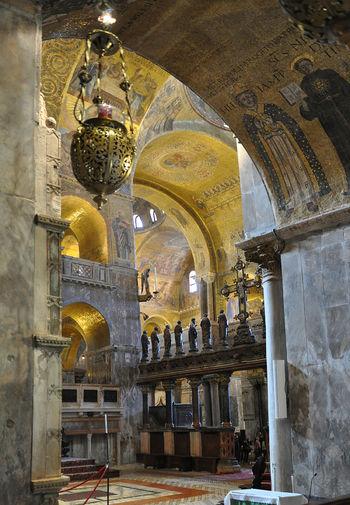 Pitture San Marco Interni.Mosaici Di San Marco Venice Wiki La Guida Collaborativa Di Venezia
